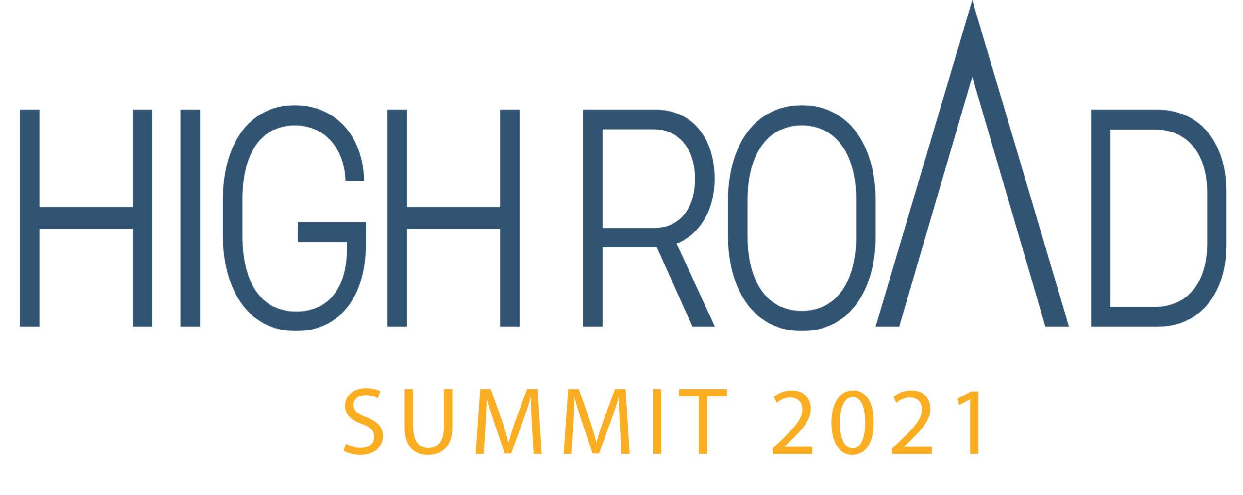 High Road Summit 2021 logo