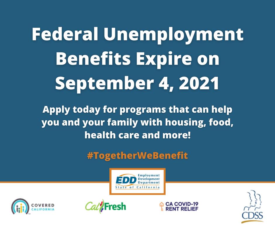 Federal Unemployment Benefits End Fact Sheet
